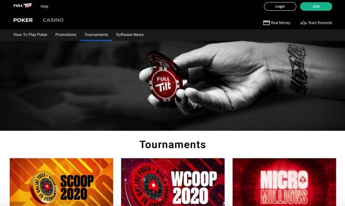 Full Tilt Poker screenshot