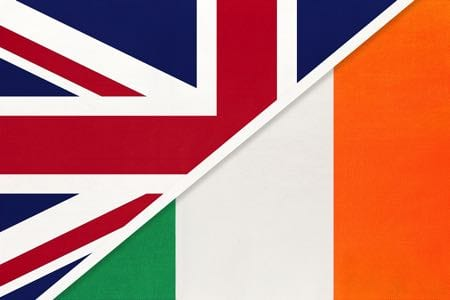British & Irish flags