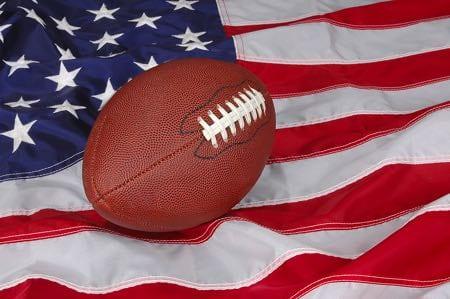 American football flag