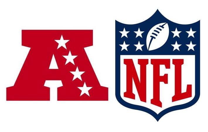 American Football Conference & National Football League logos