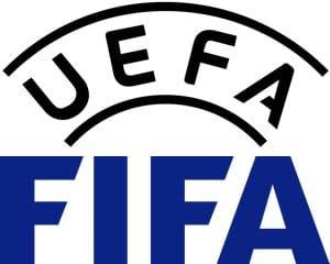 UEFA & FIFA logos