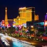 Las Vegas by night