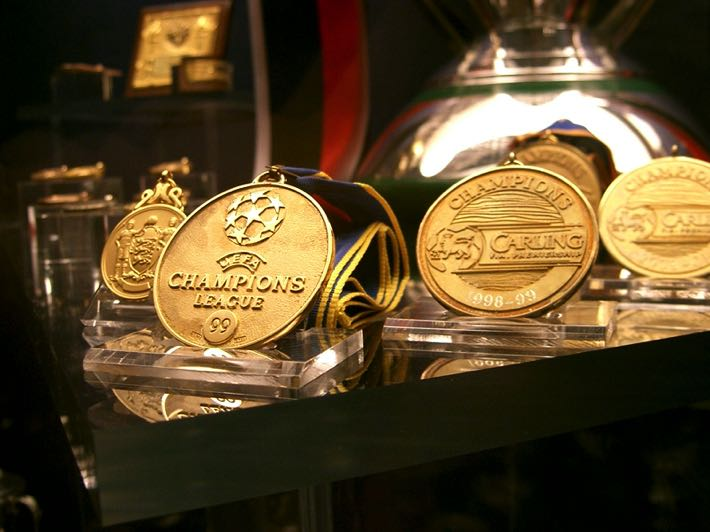 Manchester United medals