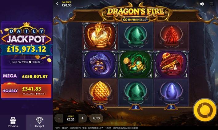 Dragons Fire Screenshot 1
