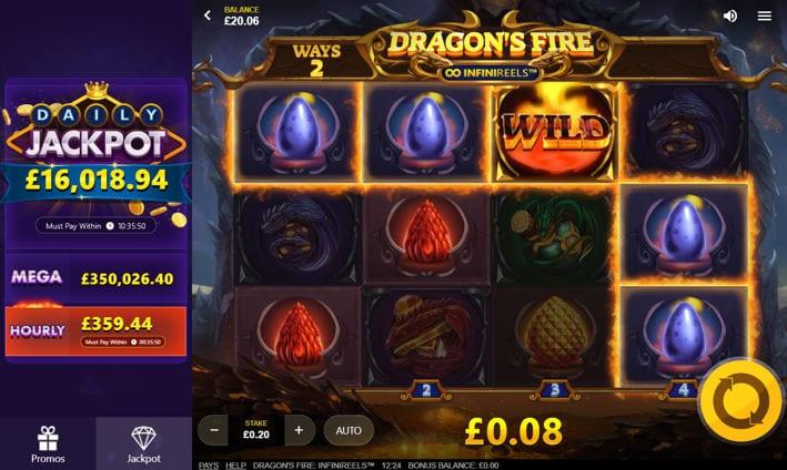 Dragons Fire Screenshot 2