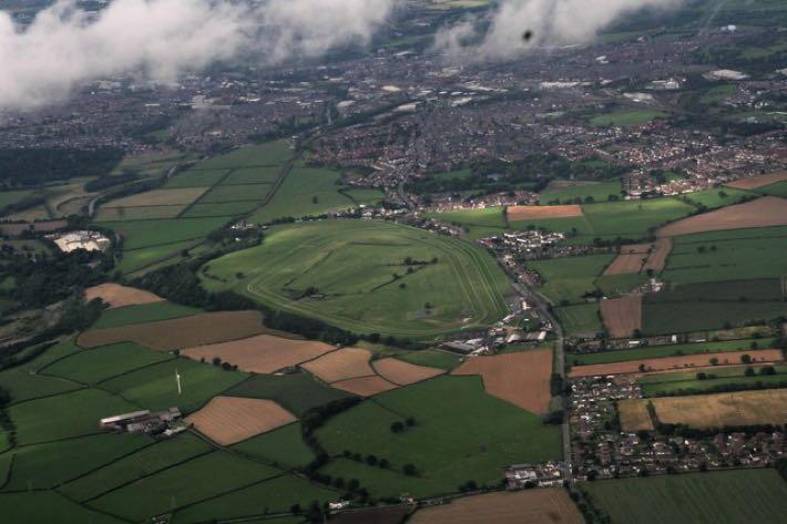 Carlisle Racecourse aerial