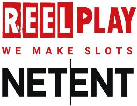 Reel Play & NetEnt logos