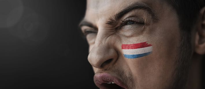 Angry Luxembourg fan