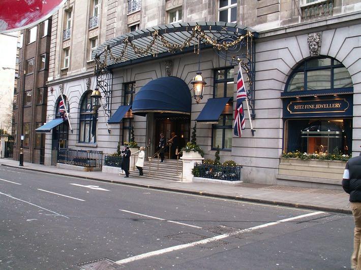 The Ritz front entrance