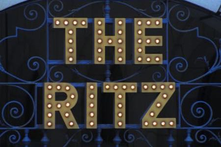 The Ritz Club sign