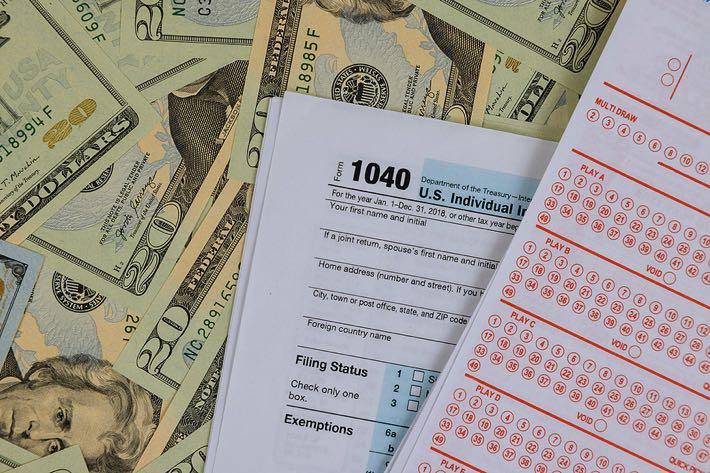 US Lottery Taxes