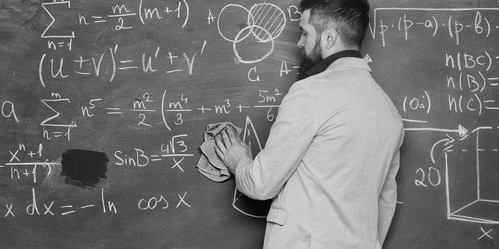 Equations on Blackboard